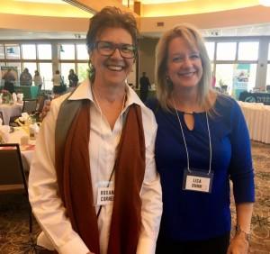 SPSWA President, Lisa Dunn and Roxanne Cornell
